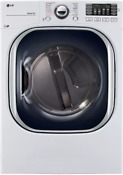 Lg 27 Electric Dryer With Turbosteam White 7 4 Cu Ft Nob Dlex4370w