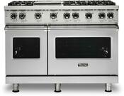 Viking Vgr5486gss Professional 5 Series 48 Freestanding Gas Range Convection
