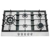 30 Stainless Steel Gas Cooktop Open Box 5 Burners Metal Knobs