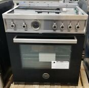 New Out Of Box Bertazzoni 30 Induction Top Range In Nero Black 4 Burners