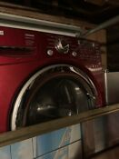 Red Washer And Dryer Set Tromm Electric Used Good Condition Ultra Capacity Quiet