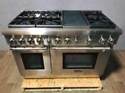 Thermador 48 Pro Style Gas Range With True Convection Electric Griddle