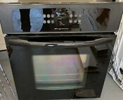 Frigidaire Black Electric Single Wall Oven