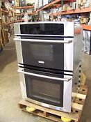 Electrolux 30 Stainless Wave Touch Double Oven Ew30mc65js 58 Off 3 995 List