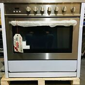 36 In Single Oven Gas Range With 5 Burner Cooktop Open Box Scratch Dent