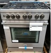 New Out Of Box Beko 30 Pro Gas Range Stainless Steel 5 Burner