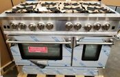 New Out Of Box Blue Star Bluestar 48 Gas Range Stainless Newest Model 8 Burners
