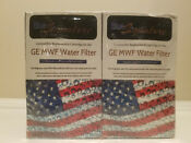 2 Count Blue Signature Ges Mwf Replacement Water Filter Cartridges New For Ge