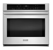 Ge Monogram 30 Single Electric Wall Oven Self Cleaning Convection Zet9050shss