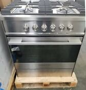 Fisher Paykel Contemporary Series 30 Stainless Range 4 Burners Refurbished
