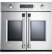 Ge Monogram 30 French Door Electronic Convection Single Wall Oven Zet1fhss