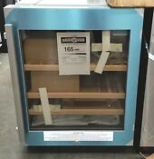 New Out Of Box Liebherr 24 Undercounter Wine Cooler Stainless Steel Right Hinge