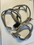 Lot Of 3 Wire Prong Range Oven Cord Electric
