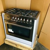 36 In 3 8 Cu Ft Single Oven Dual Fuel Range W Oven Open Box Scratch Dent