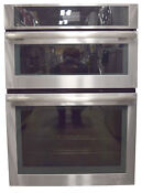 Jenn Air Jmw2430ds 30 Stainless Combination Microwave Wall Oven