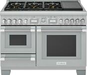 Thermador Pro Grand Series Prd48wisgu 48 Smart Stainless Steel Dual Fuel Range