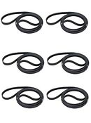 6 Pack 341241 Drum Belt For Whirlpool Kenmore Dryer Ap2946843 Ps346995
