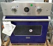 Viking 27 Single Wall Oven Premiere Series Cobalt Blue