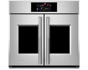 Monogram 30 Smart French Door Electric Convection Single Wall Oven Ztsx1fpsnss