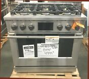 New Out Of Box Fisher Paykel Smart 36 Inch Dual Fuel Stainless Range 6 Burners