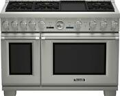 Thermador Pro Grand Series Prg486jdg 48 Stainless Steel Gas Range