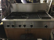 Thermador 48 Rangetop With 4 Burners Griddle Grill Model Gps484ggs