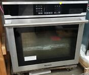 Blomberg 30 Single Electric Wall Oven Stainless Steel
