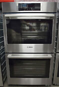 Bosch 800 Series Hbl8651uc 30 Double Electric Wall Oven 2