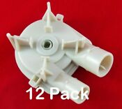 Whirlpool Kenmore Washer Washing Machine Water Pump For 3363394 New 12 Pack