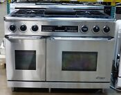 Dacor 48 Dual Fuel Range W Self Cleaning Pure Convection Oven Local Pickup Only