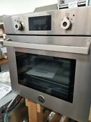 Out Of Box Bertazzoni 24 Built In Single Electric Wall Oven Stainless Steel