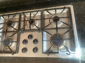 Ge Profile 36 Gas Cooktop With 5 Sealed Burners Model Jgp963sekss