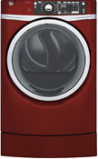 Ge Rightheight Design Series 28 Electric Dryer 8 3 Cu Ft Red Gfd49erpkrr