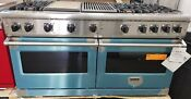 Never Used Out Of Box Viking 60 Inch Stainless Steel Range Grill And Griddle