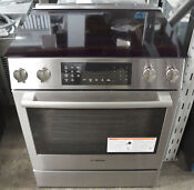 Bosch 800 Series Hei8056u 30 Slide In Electric Convection Range