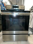 Ge 30 Free Standing Electric Range Model Jb645rkss Local Pickup Only