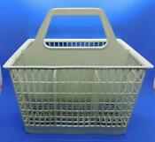 Vintage Green Ge Dishwasher Silverware Utensil Cutlery Basket