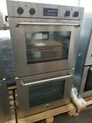 Bertazzoni 30 Electric Double Wall Oven Master Series Stainless Steel