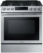 Samsung Nx58m9420ss 30 Inch Slide In Gas Range With Convection Wi Fi Glass