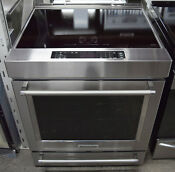 Kitchenaid Ksib900ess 30 Stainless Steel Slide In Electric Induction Range
