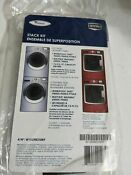 Whirlpool Maytag W10298318rp Maxima Duet Washer Dryer Stacking Kit