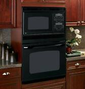Jtp90dpbb Ge 30 Combo Oven Microwave Black In Box Discontinued