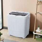 Zokop 14 3lbs Compact Semi Automatic Washing Machine Laundry Apartments Dorms Us