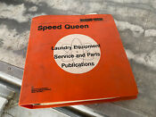 Speed Queen Laundry Service Book Publication Service Manual Washer And Dryer