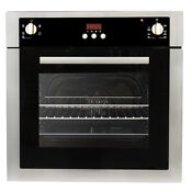 24 In Stainless Steel Electric Wall Oven True European Convection Open Box