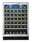 Danby 24 Built In Wine Cooler With 50 Bottle Capacity Dwc508bls