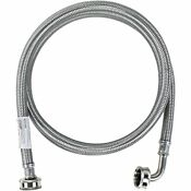 Washing Machine Hose With 90 Degree Elbow Hot Or Cold Water Supply Line 6 Feet