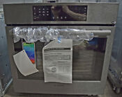 Bosch 800 Series Hbl8443uc 30 Single Electric Wall Oven Black Stainless