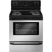 Frigidaire Stainless Steel 30 Electric Coil Top Freestanding Range Ffef3015ls