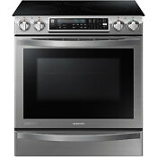 Samsung Stainless Steel 30 Electric Induction Slide In Range Ne58h9970ws